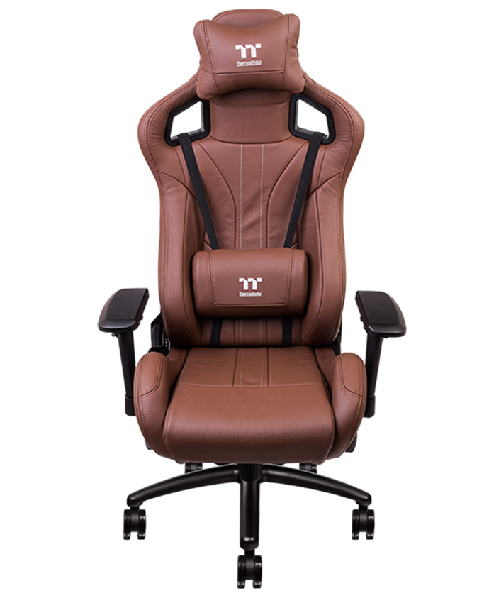 X Fit Real Leather Brown, Real Leather Office Chair